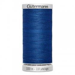 Gütermann SuperSterk 100meter blauw kleur 214