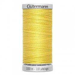 Gütermann SuperSterk 100meter geel kleur 327
