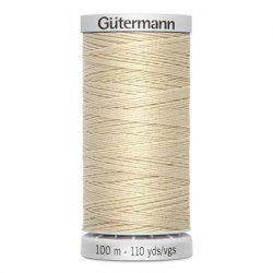 Gütermann SuperSterk 100meter beige kleur 414