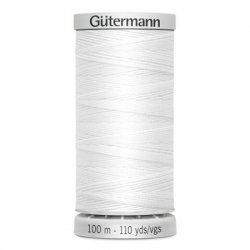 Gütermann SuperSterk 100meter wit kleur 800