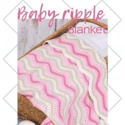 Baby Ripple Blanket Pink