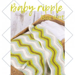 Baby Ripple Blanket Green