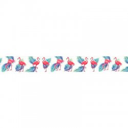 Flamingo lint 25 mm per cm of mtr kleur 009