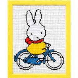 Pako Telpakket Nijntje op fiets 13x17cm