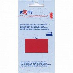 Pronty Reparatiedoek Snelfix opstrijkbaar 018 rood