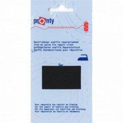 Pronty Reparatiedoek Snelfix opstrijkbaar 090 zwart