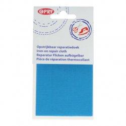 Opry Reparatiedoek opstrijkbaar 11x25cm 298 blauw