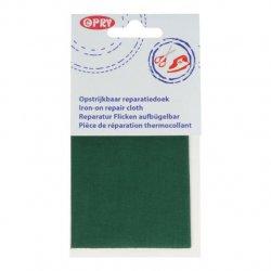 Opry Reparatiedoek opstrijkbaar 11x25cm 410 groen