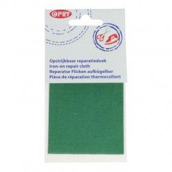 Opry Reparatiedoek opstrijkbaar 11x25cm 519 groen