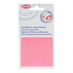 Opry Reparatiedoek opstrijkbaar 11x25cm 749 roze