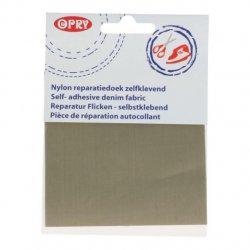 Opry Reparatiedoek Nylon zelfklevend 10x20cm 004 grijs