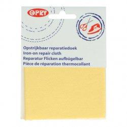 Opry Reparatiedoek jeans opstrijkbaar 10x40cm color 638 geel