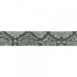 Elastic band slang print 40mm per cm/mtr te bestellen