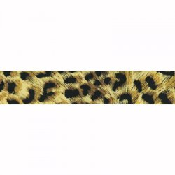 Elastic band luipaard print 40mm per cm/mtr te bestellen