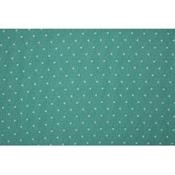 Jersey bedrukt met stippen 11187 groen 025