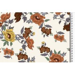 Viscose met bloemen 703478 3011