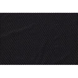 Tricot Viscose met stippen 12267 zwart 069