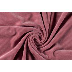 Corduroy Brede rib uni stretch 12502 roze 014