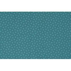Poplin Katoen Speckles 12112 blauw 023