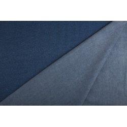 Fleece met katoen 285 gram Nooteboom 08650 blauw 006