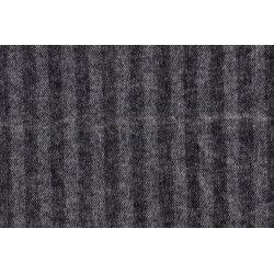 Mantelstof met geruwd laagje 12359 zwart 069