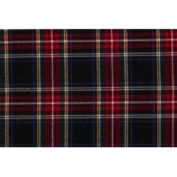 Schotse Ruit 05193 zwart 069