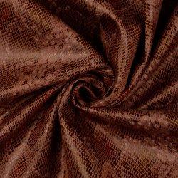 Kunstleer stretch Stay Wild 990165 bruin 5001