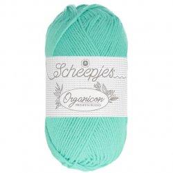Scheepjes Organicon - 215 Bright Ocean Groen Blauw