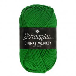 Scheepjes Chunky Monkey 100g - 2014 Emerald