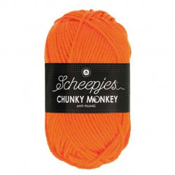 Scheepjes Chunky Monkey 100g - 2002 Orange