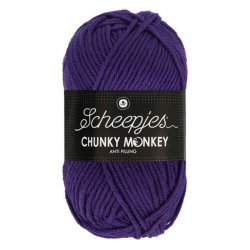 Scheepjes Chunky Monkey 100g - 2001 Deep Violet