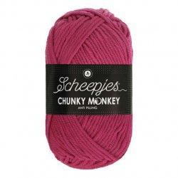 Scheepjes Chunky Monkey 100g - 1827 Deep Fuchsia
