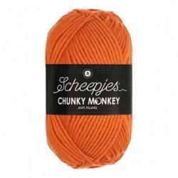 Scheepjes Chunky Monkey 100g - 1711 Deep Orange