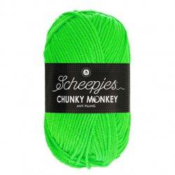 Scheepjes Chunky Monkey 5x100g Scheepjes Chunky Monkey 100g - 1259 Neon Green
