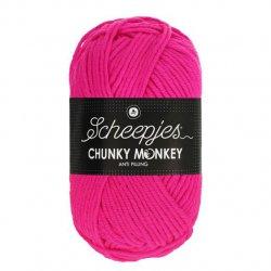 Scheepjes Chunky Monkey 100g - 1257 Hot Pink