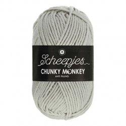 Scheepjes Chunky Monkey 100g - 1203 Pale Grey