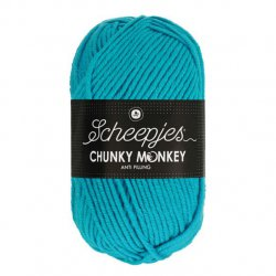 Scheepjes Chunky Monkey 100g - 1068 Turquoise