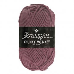 Scheepjes Chunky Monkey 100g - 1067 Rosewood