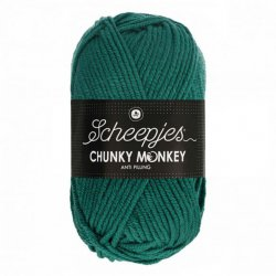 Scheepjes Chunky Monkey 100g - 1062 Evergreen