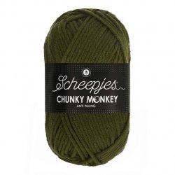 Scheepjes Chunky Monkey 100g - 1027 Moss Green