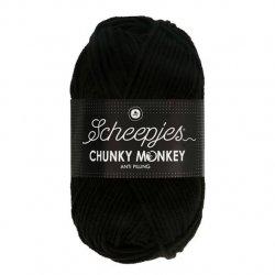 Scheepjes Chunky Monkey 100g - 1002 Black
