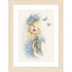 Telpakket kit Blauwe vlinders PN-0155691