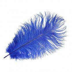 Pieten veer blauw 17.5, 22 of 30 cm
