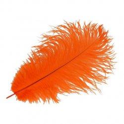 Pieten veer oranje 30 cm