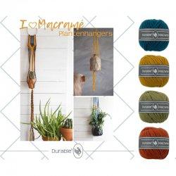 Macramé plantenhanger (pkt)*  014.138