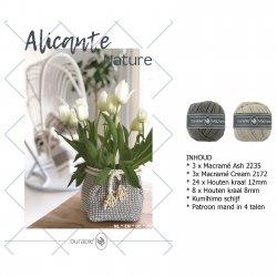 Haakpkt Jolie Alicante mand (pkt)*  014.157 kleur 002