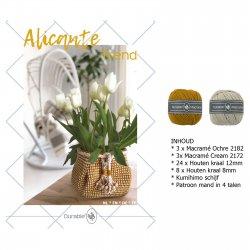 Haakpkt Jolie Alicante mand (pkt)*  014.157 kleur 653