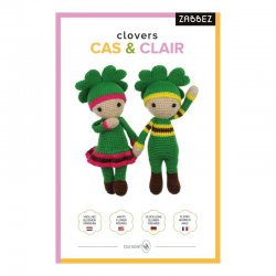 Zabbez clovers Claire & Cas (pkt)* 014.197