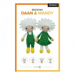 Zabbez daisies Daan & Mandy (pkt)* 014.198