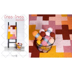 Criss-Cross Blanket - Pink/Yellow - 014.208